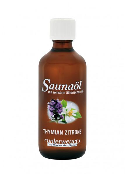 Unterweger Saunaöl 100 ml Thymian-Zitrone