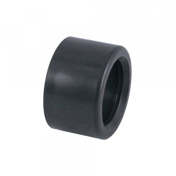PVC Reduktion kurz, 63x50 mm, Klebestutzen x Klebemuffe