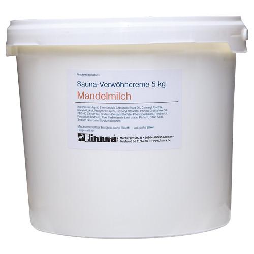 Finnsa Sauna-Verwöhncreme Mandelmilch 5 kg