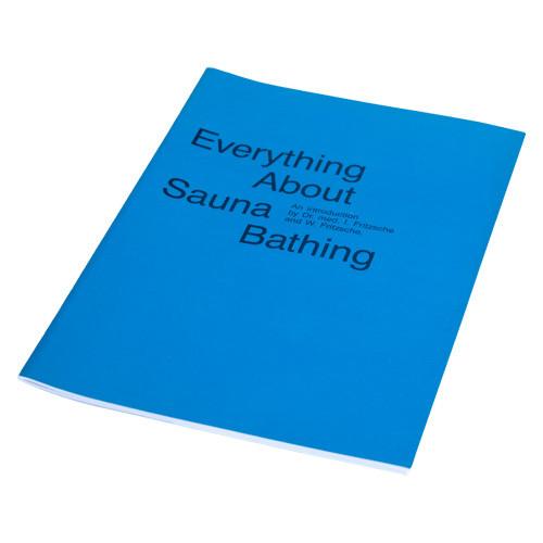 Broschüre, Sauna und Saunabaden, englisch