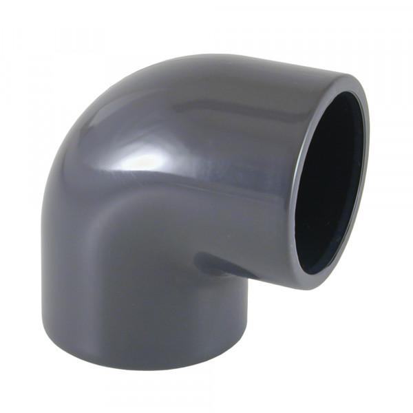 PVC Winkel 90° 40/50 mm x 50 mm