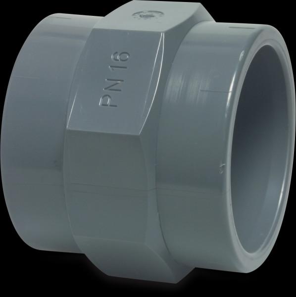 """PVC Gewindemuffe 40 mm x 1 1/4"""", KlebemuffexInnengewinde"""