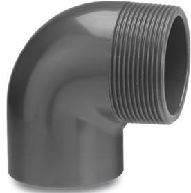 "PVC Winkel 90° 63 mm x 2"""
