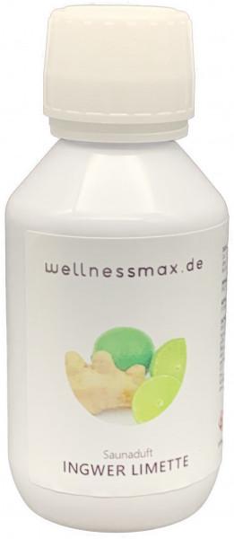 Wellnessmax Aufguss Konzentrat, Ingwer Limette
