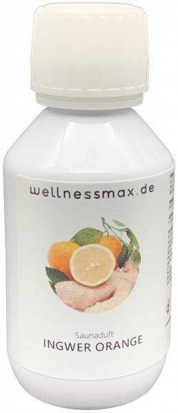 Wellnessmax Aufguss Konzentrat, Ingwer Orange