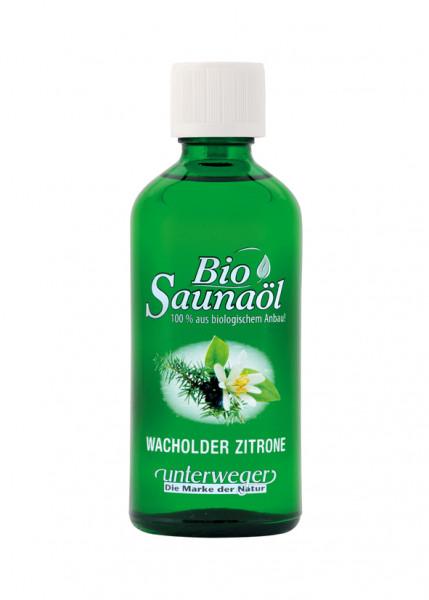 Unterweger BIO Saunaöl 100 ml Wacholder-Zitrone