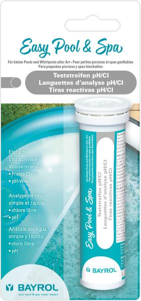 Bayrol Easy Pool & Spa Teststreifen pH/Cl