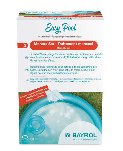 Bayrol Easy Pool & Spa Monats-Set