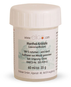Elsässer Menthol Kristalle 100% naturrein 30 g