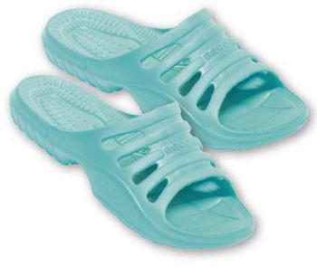 BECO Badeschuhe Damen Slipper mint