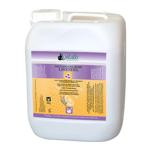Vitalis Saunahonigcreme, 6 kg Kanister (4,8 l), Lavendel