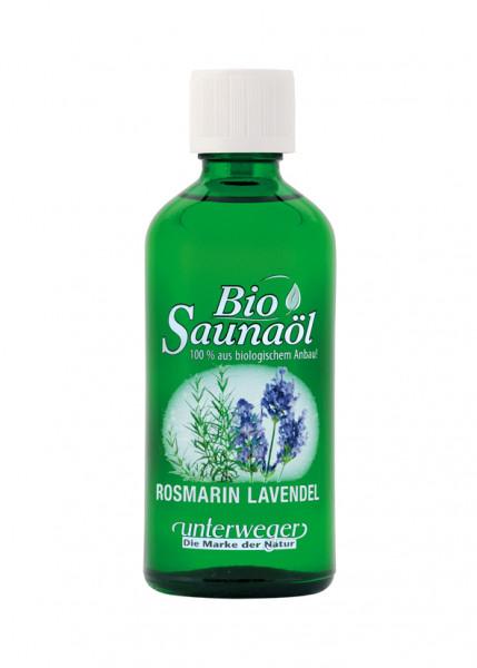 Unterweger BIO Saunaöl 100 ml Rosmarin Lavendel