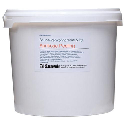 Finnsa Sauna-Verwöhncreme Aprikose (Peeling) 5 kg