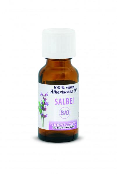 Unterweger BIO ätherisches Öl, Salbeiöl 20 ml