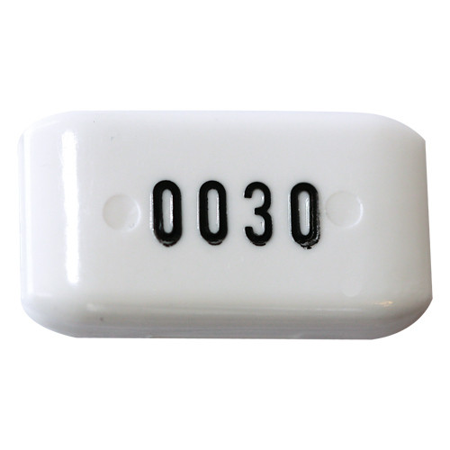 Schlüsselkapsel aus Macrolon m. Nummerierung