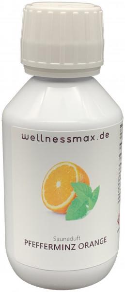 Wellnessmax Aufguss Konzentrat, Pfefferminz-Orange
