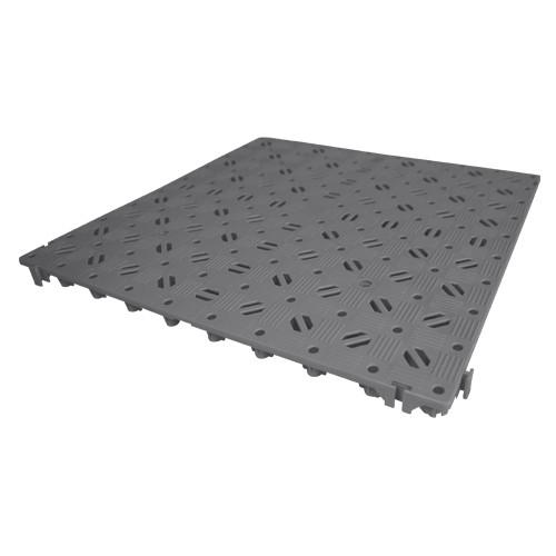 "Kunststoff-Bodenrost ""Stabil"" 50x50cm, basaltgrau"