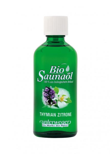 Unterweger BIO Saunaöl 100 ml Thymian-Zitrone