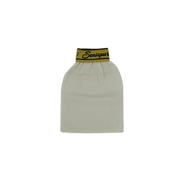 Sensepur Peelinghandschuh mit Gummibund