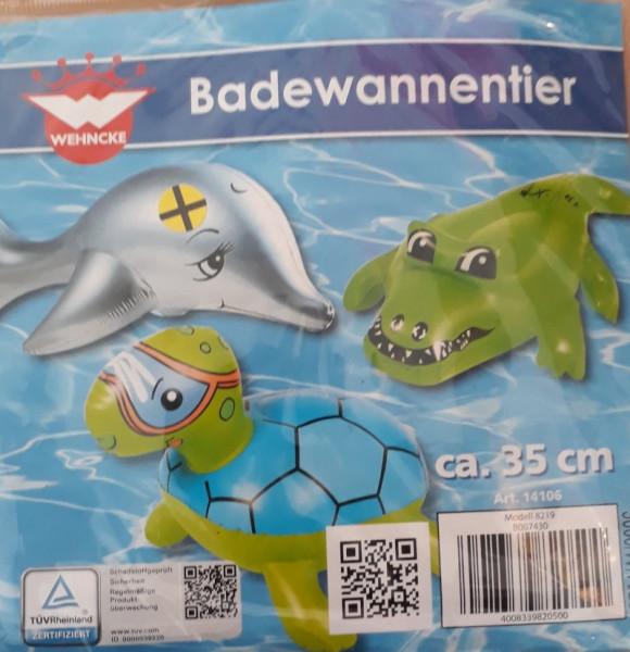 Badewannentier aufblasbar