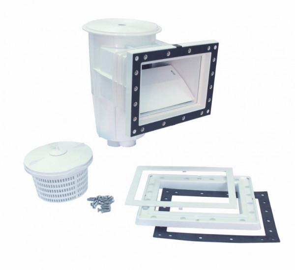 AstralPool Skimmer 15L PP Mündung Standard Deckel Quadratisch