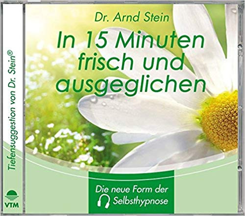Arnd Stein CD In 15 Min. frisch und ausgeglichen