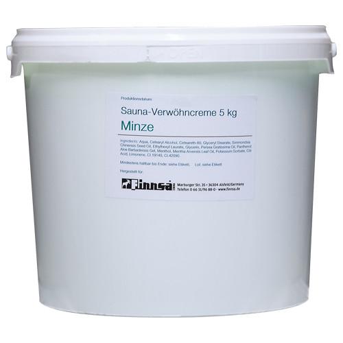 Finnsa Sauna-Verwöhncreme Minze 5 kg