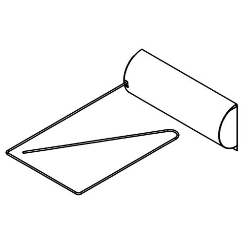 Abschaltwippe für Saunaheizgerät Typ 4
