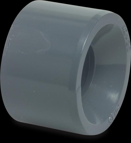 PVC Reduktion kurz, 63x40 mm, Klebestutzen x Klebemuffe