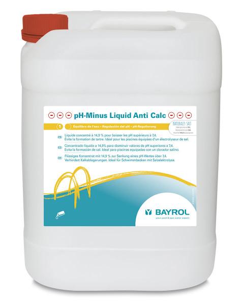 Bayrol pH-Minus Liquid Anti Calc by Naturally SALT