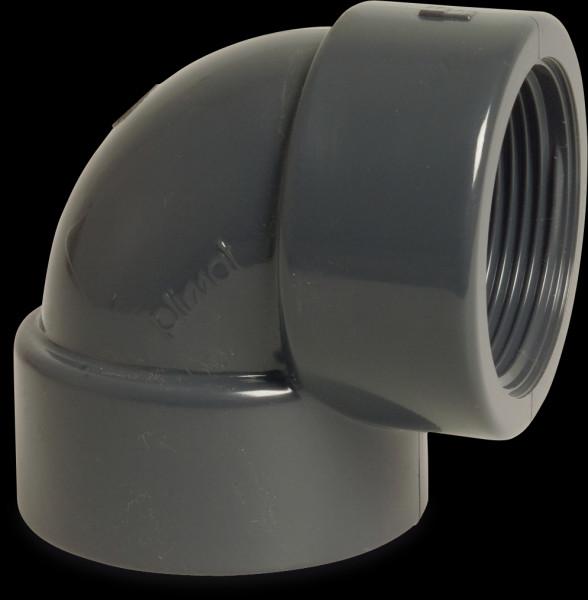 "PVC Winkel 90° 50 mm x 1 1/2"""