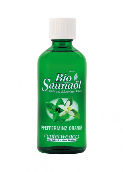 Unterweger BIO Saunaöl 100 ml Pfefferminz Orange