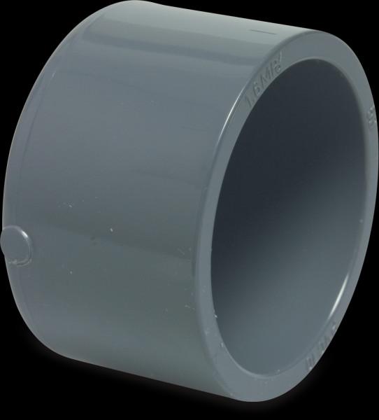 PVC Klebekappe 63 mm
