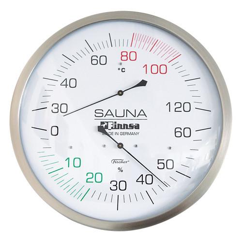 Finnsa Sauna-Hygro-Thermometer Kombigerät Trend XXL