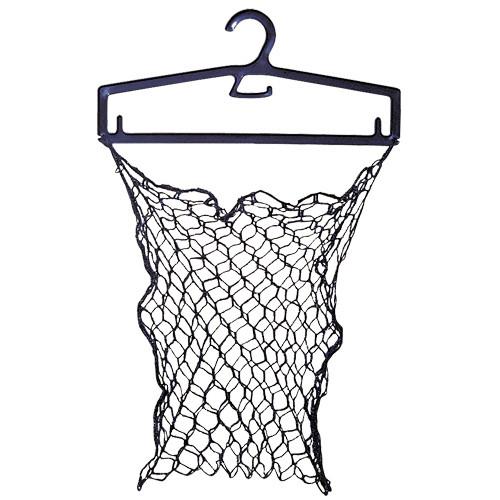 Badkleiderbügel kurz incl. Netztasche