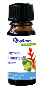 Spitzner Ätherische Öle 10 ml Ingwer-Limette